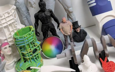 Uses of 3D scanning in the educational sector