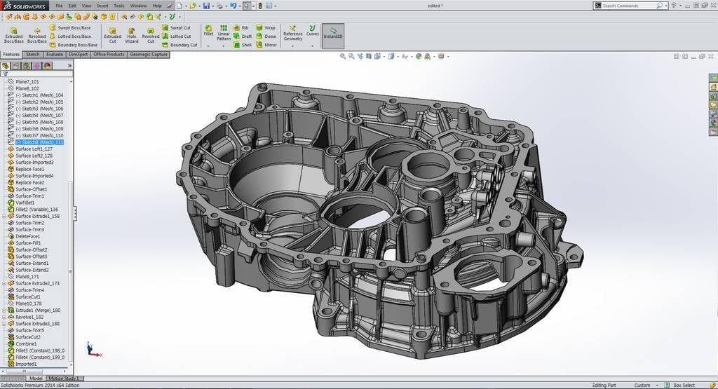 Geomagic Design X - Central Scanning