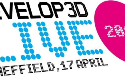 Come see us at Develop3D live (17th April) at University of Sheffield
