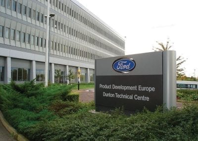 Ford – 3D scanning for improved quality and component testing