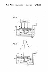Figures from Chuck Hull's 3D printer patent