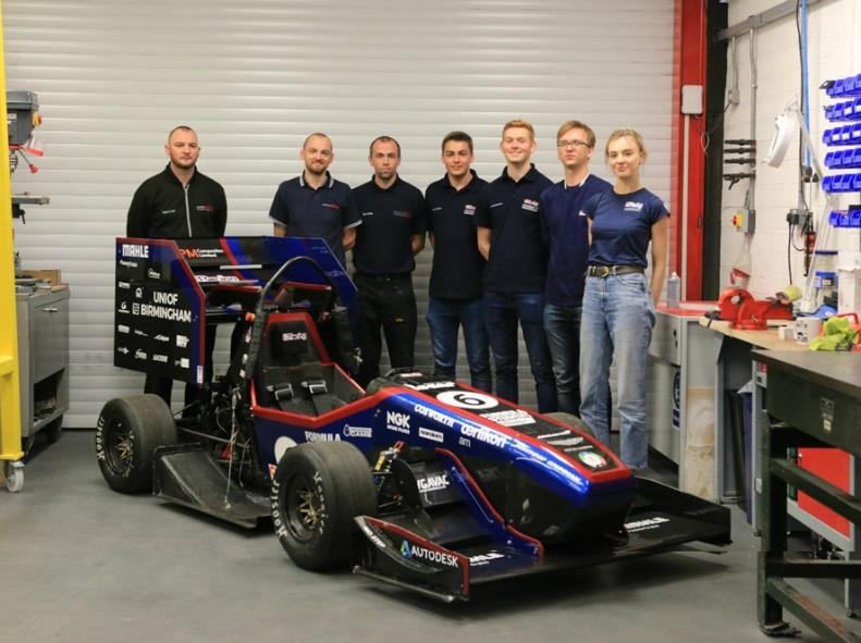 3D scan for CFD & Inspection of the UBRacing Formula Student Car