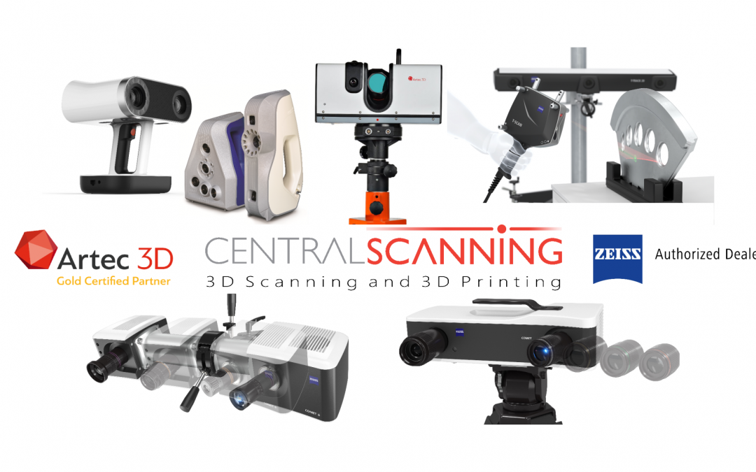 Getting into 3D scanning – contract services and rental