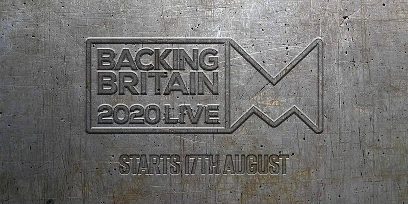 Central Scanning at Backing Britain Live ! 17 – 28th Aug 2020 !