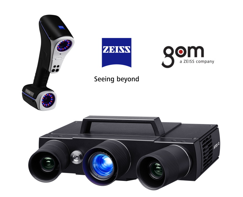 Introducing GOM ATOS Q and ZEISS T-SCAN Hawk
