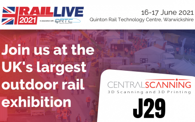 Central Scanning at Rail Live 2021 (16 – 17th June)