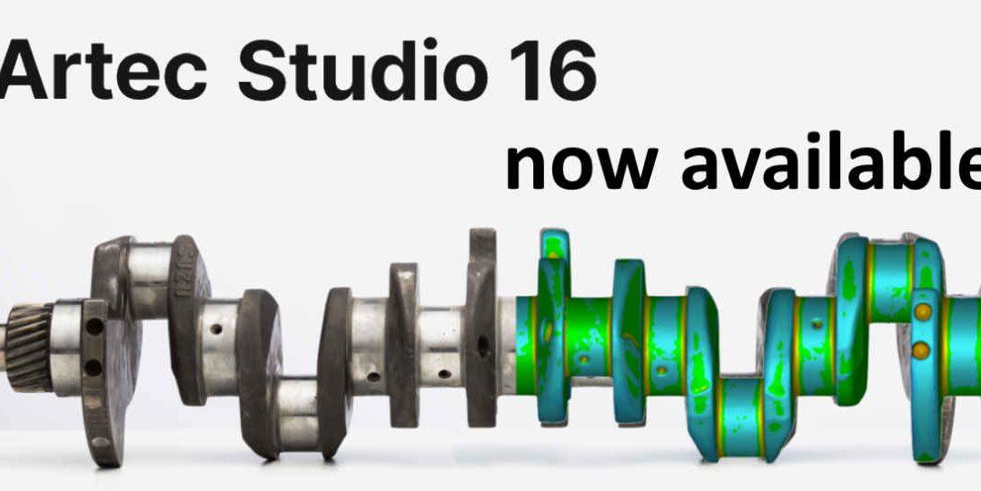 New Release Of Artec Studio 16